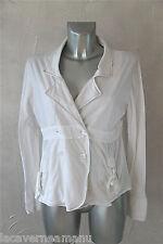 jolie petite veste blanche strecth MC PLANET taille 44