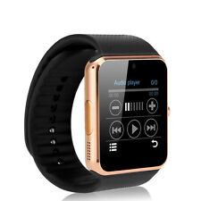 GT08 Bluetooth Smart Wrist Watch GSM Phone For Android Samsung iOS iPhone Golden