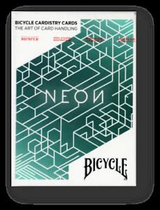 Bicycle-Neon-Cardistry-Jugando-a-las-Cartas-Poquer-Juego-de-Cartas-Cardistry