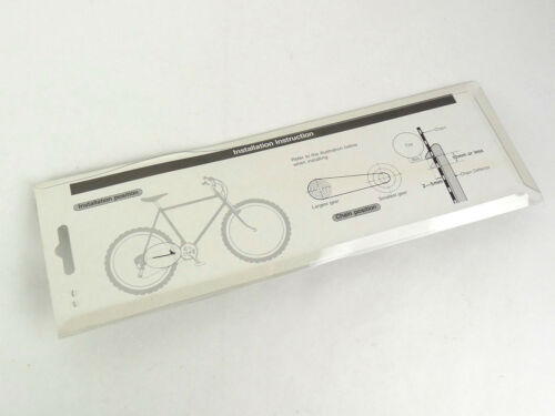Shimano XT Sharkfin chainstay protector Vintage MTN Bike mtb SHARK FIN NIP NOS