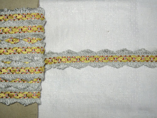 11 METRES DE GALON ANCIEN PASSEMENTERIE DE LYON--VINTAGE FRENCH TRIM--N°NOV84