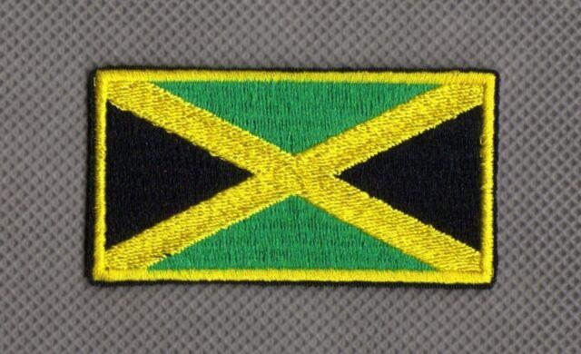 Flagge Jamaika Flag Jamaica iron-on Aufnäher patch