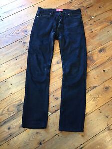 Maple-Slim-Fit-Motor-Cycle-Jeans-Black-Size-34
