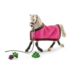 ARAB-MARE-WITH-BLANKET-by-Schleich-NEW-2016-model-horse-toy-41447
