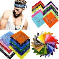 Paisley Bandana Biker Head Wear Bands Scarf Neck Wrist Wrap Head Band 20 Color
