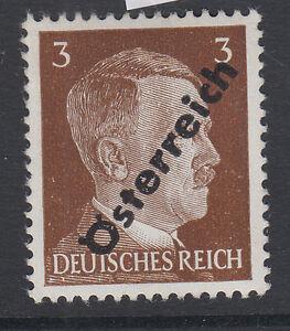 1945 Hitlermarke, Aufdruck: Österreich, 3 PFG, postfrisch - Österreich, Österreich - 1945 Hitlermarke, Aufdruck: Österreich, 3 PFG, postfrisch - Österreich, Österreich