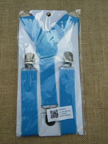 Kids Boys /& Girls Clip On Adjustable Braces Suspenders 2-8 years *UK Seller*
