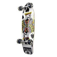 King of Spades Graphic Complete Longboard Mini Cruiser