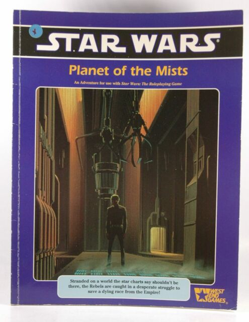 Planet of the Mists (Star Wars RPG) Findley, Nigel - Design. Smith, Bill - Devel