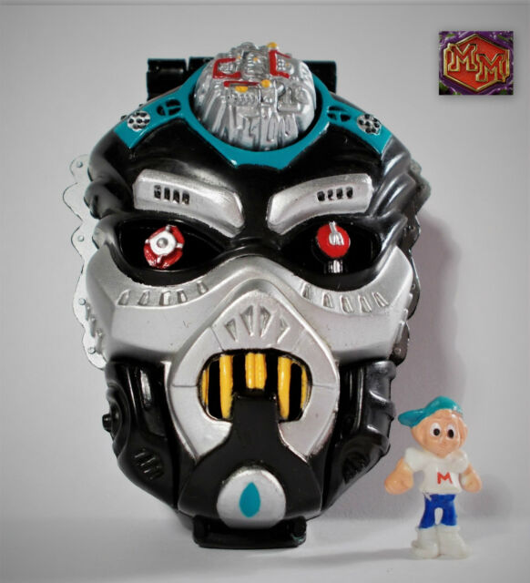 Mighty Max - Droid Invader / Robot Invader - Horror Heads - Bluebird Toys 1992 7
