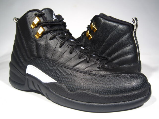best service 8e6c3 84e6f ... ireland nike air jordan xii 12 retro the master sz 13 black metallic  gold 130690 013