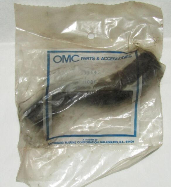 OMC Johnson Evinrude 305645 Cylinder Head Cooling Hose