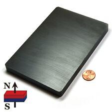 Strong Ceramic Magnet Block 6 X 4 X 12 Hard Ferrite Magnet Slab Free Shipping