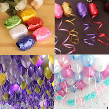 6 color 5mm10m Balloon Ribbon Rope Wedding Party Supplies Mix Color