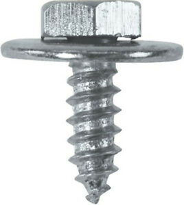 Acme-Sheet-Metal-Hex-Screws-Tappers-Loose-Washer-8-10-12-14-x-1-2-Gauge-QTY-20