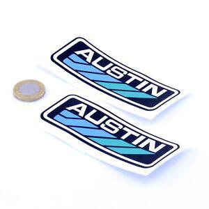 Austin-Badge-Sticker-Decal-Classic-Car-Vinyl-100mm-x2-Maestro-Montego-Metro-Mini
