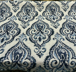Swavelle-Shamaris-Blue-Tide-Damask-Chenille-Upholstery-Fabric-by-the-yard