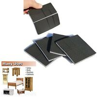 Home Furniture Non-slip Rubber Protector 4 Felt Pad Hard Floor Bed Chair Safe