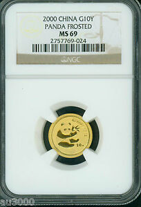 2000-Frosted-GOLD-CHINESE-PANDA-1-10-OZ-10Y-G10Y-NGC-MS69-MS-69-CHINA-10-YUAN