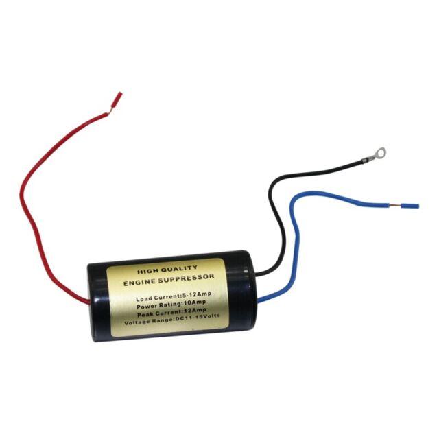 12V 10A Car Noise Audio Filter 12V Dc Car Stereo Installation Engine V4U7V4U7