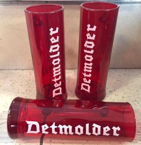 6x Detmolder Ritzenhoff Bierkrug Glas 0,3l Henkelglas