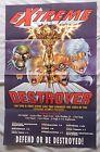 1996 iMAGE EXTREME DESTROYER 22x34 Unused Promo Poster