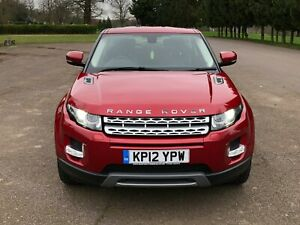 Image Is Loading 2017 Red Range Rover Evoque Pure T 2