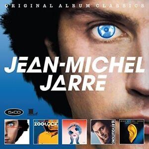 Jean-Michel-Jarre-Original-Album-Classics-New-CD-Holland-Import