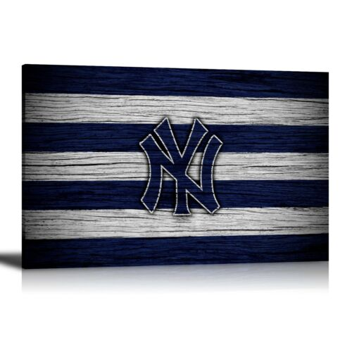 HD Printed Oil Painting Home Decor Wall Art On Canvas New York Yankees Unframed