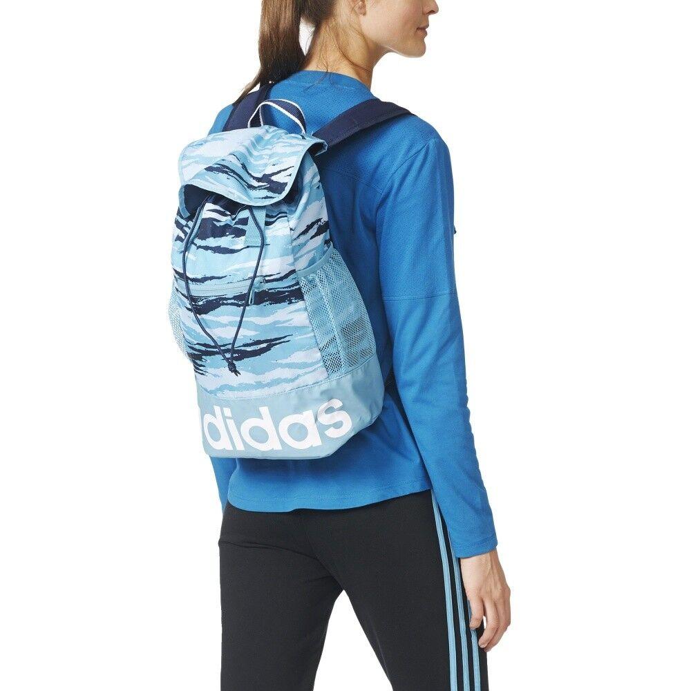 adidas Rucksack ΓυναίκΡς ΓραμμικΞ� Performance Backpack Graphic AY5065 20 L blau
