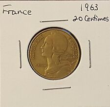 France 20 Centimes - Group of 4