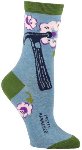 Femme Cheville Chaussettes Blue Q-Pretty martelé-Drôle Cadeau de nouveauté 5-10