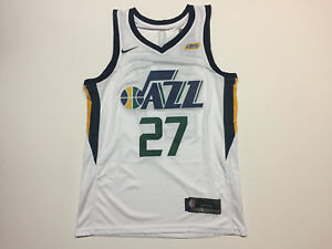 best website ceb7a de1e0 Details about Rudy Gobert #27 Utah Jazz White Men's Jersey - Brand New