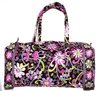 Vera Bradley Extra Large Duffel Purple Punch