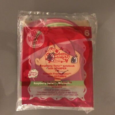 McDonald/'s Strawberry Shortcake Raspberry Torte #6 2010 Happy Meal toy figure