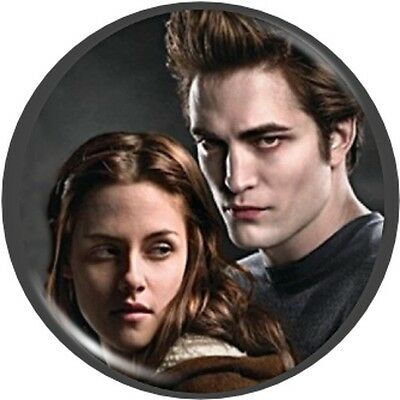 Twilight Hair Makeup Pocket MIRROR Edward & Bella Robert Pattison NEW Teens Gift