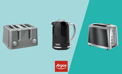 Save up to 25% on Kettles and Toasters