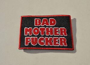 """Bad Motherfucker, Patch, écusson, Aufbügler, Badge, Iron On, Badge-atch,aufnäher,aufbügler,badge,iron On,badge"""" Data-mtsrclang=""""fr-fr"""" Href=""""#"""" Onclick=""""return False;"""">afficher Le Titre D'origine Equ2easo-07222830-754764794"""