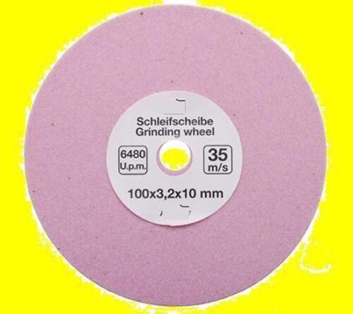 SCHEIFSCHEIBE 100x3,2x10 mm KETTENSÄGE KETTENGLIEDER Grinding Disc SCHLEIFEN