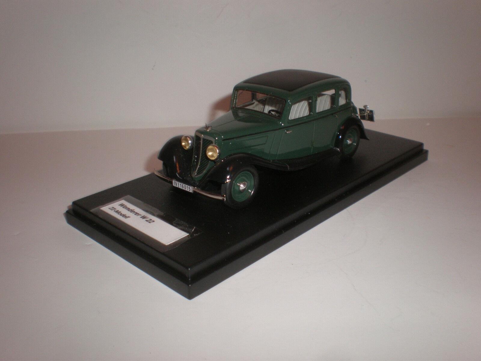 descuentos y mas Vagabundo 1 43 W 22 cuatro puertas sedán Limousine Limousine Limousine (Audi) 1933 modelos hecha por Zz  calidad oficial