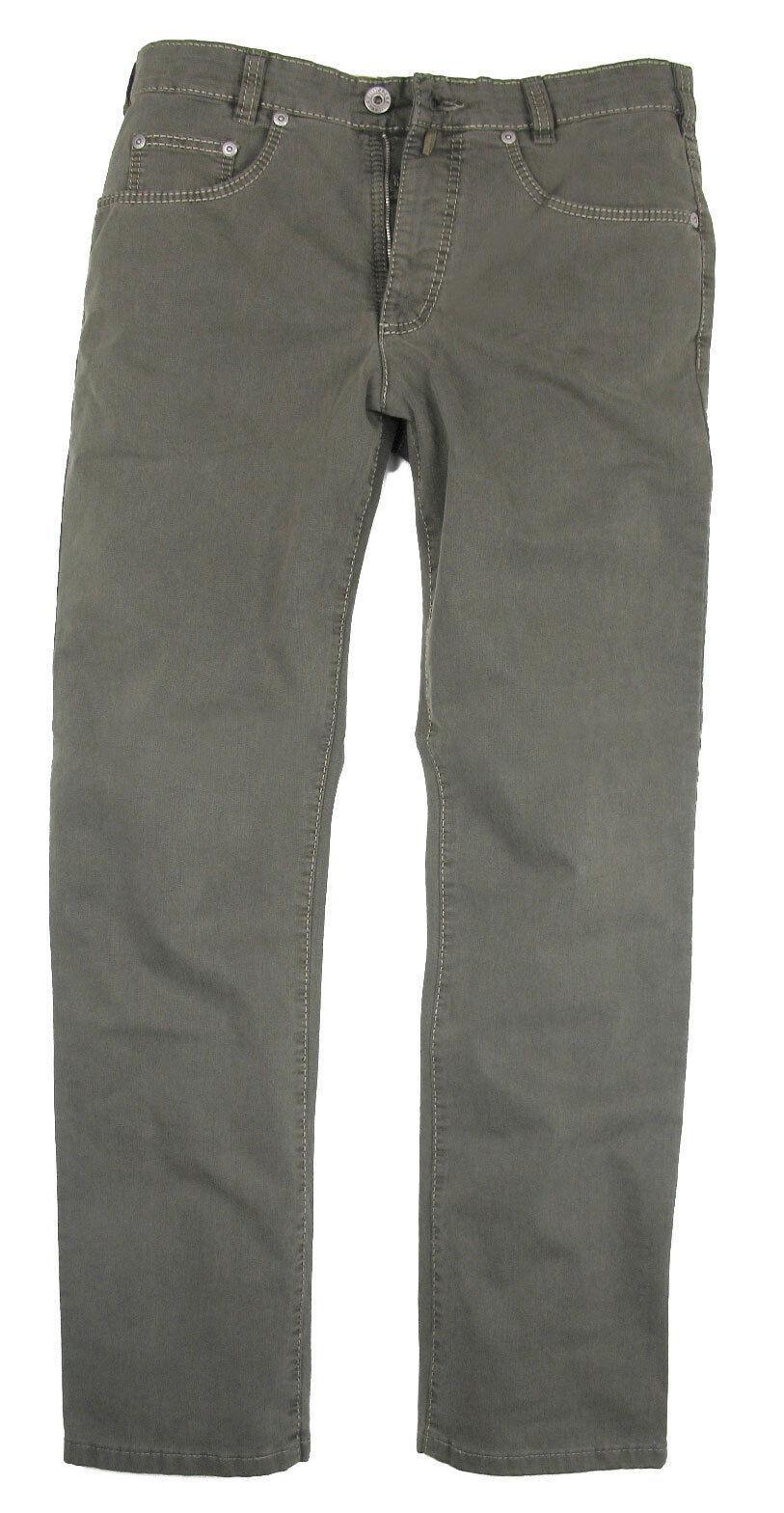 JOKER Stretch-Jeans Stretch-Jeans Stretch-Jeans CLARK grau aus Strukturbaumwolle 8b90c1