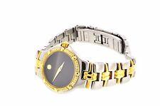 Movado Ladies Two Tone Diamond Quartz Watch : Beautiful looking Swiss watch