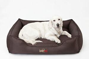 Lit pour chien Confort pour lit pour animal de compagnie Canapé pour chien Couverture pour chien Brun Grand xxxl 140x115