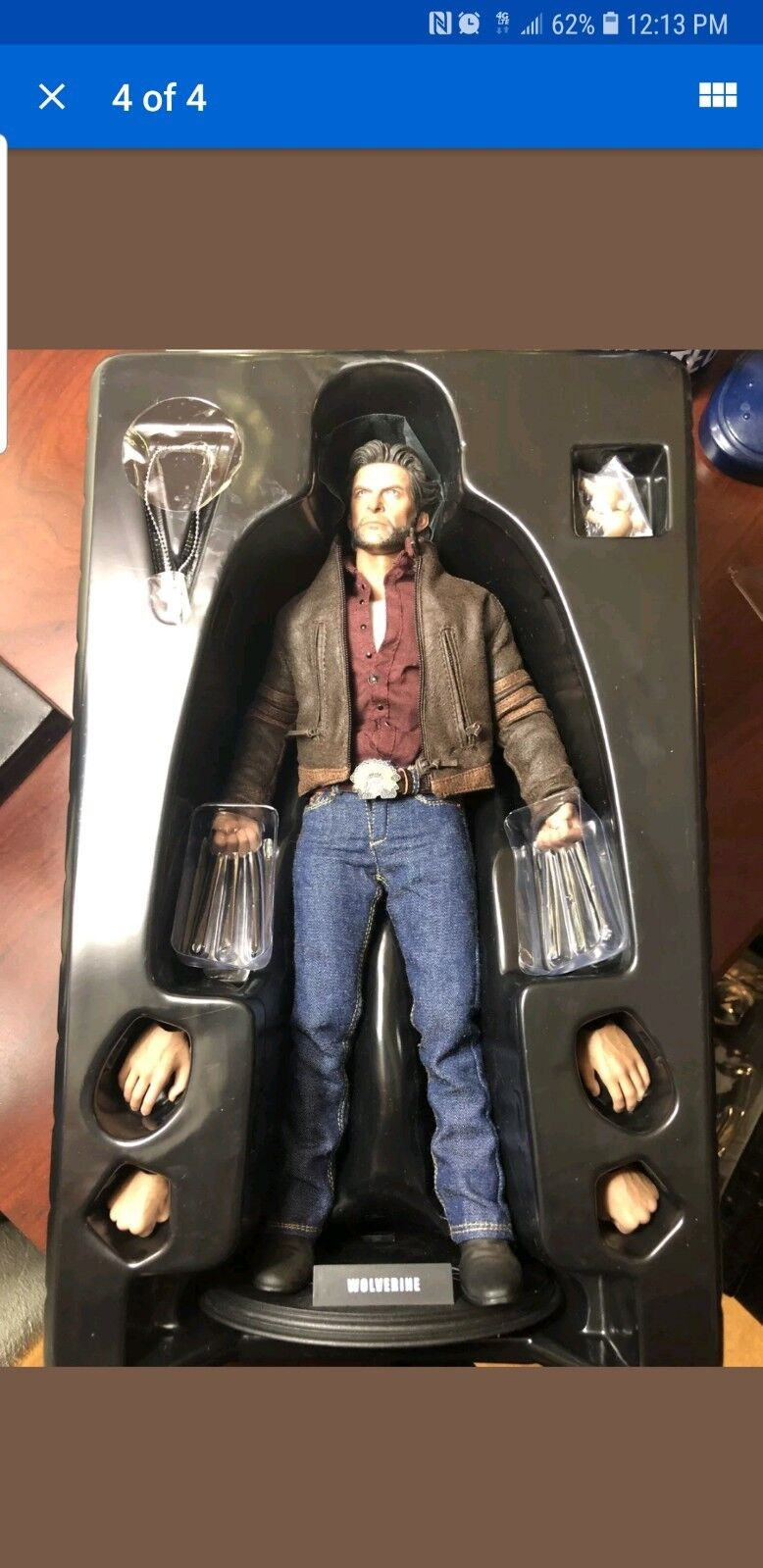1 6 hot toys wolverine Logan