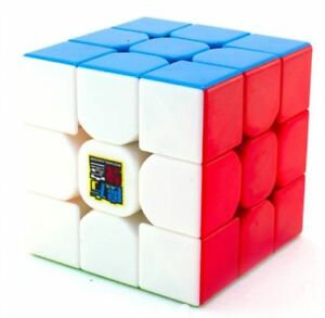 MoFang-JiaoShi-MF3RS-3x3x3-Rubik-039-s-Cube-Red-Stickerless