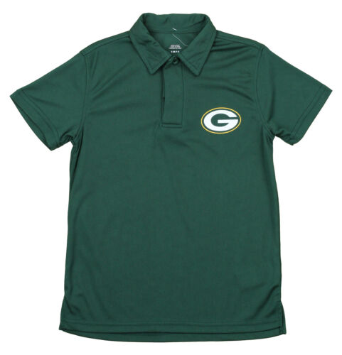 NFL Youth Green Bay Packers Performance Polo