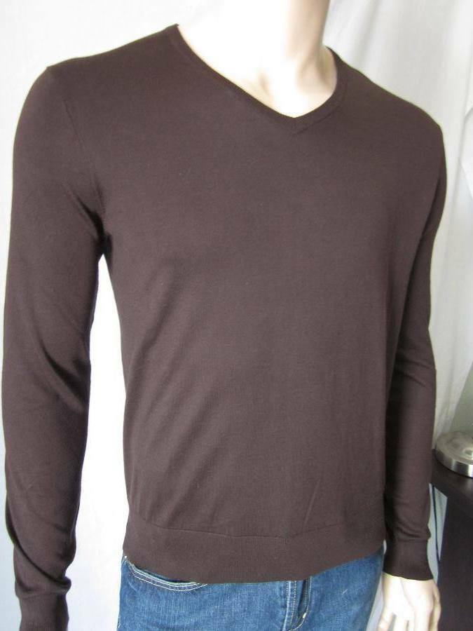 702cd11a87cc Polo Ralph Lauren Brown Cotton Sweater NWT XL nslgkr957-Sweaters ...