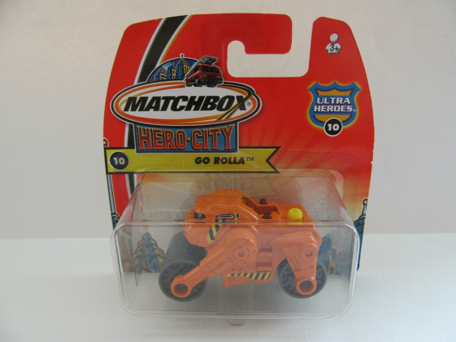 MATCHBOX SUPERFAST 2004 HERO CITY -  10 Go Rolla-Très Rare-Comme neuf boxed