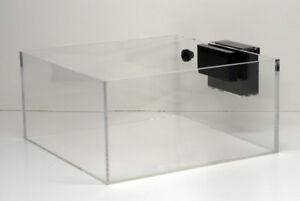 Conscientious 30x24x10 Modular Marine Rimless Acrylic Frag Tank Aquarium With Slim Overflow At Any Cost Pet Supplies