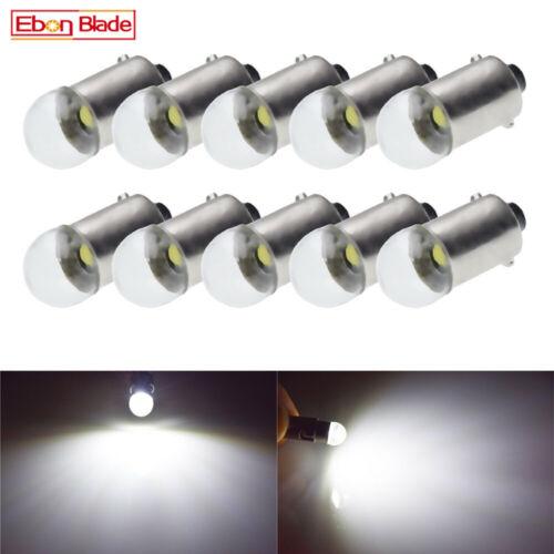 10Pcs BA9S T11 T4W 1895 Car LED Light 3030 Interior Dome Map Reading Bulb Lamp